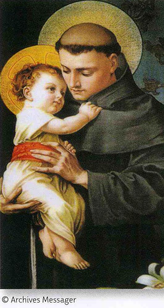 Favori Prières à Saint Antoine EW12